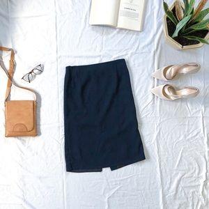 Liz Claiborne Petit Classic Mid Rise A-Line Skirt